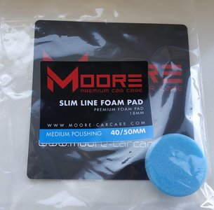 "Moore Slim Line Foam Pad Medium Polishing 1,5"" - 2"" (40 - 50mm)"