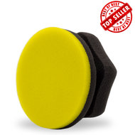 Adams Yellow Hex-Grip Car Wax Applicator